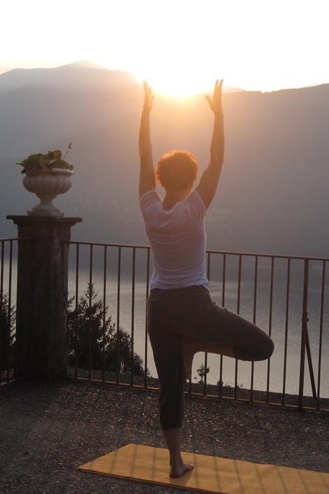 Yoga_Sonnenuntergang